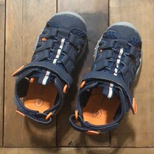 Cat & Jack sandals. Toddler 8. Barely worn